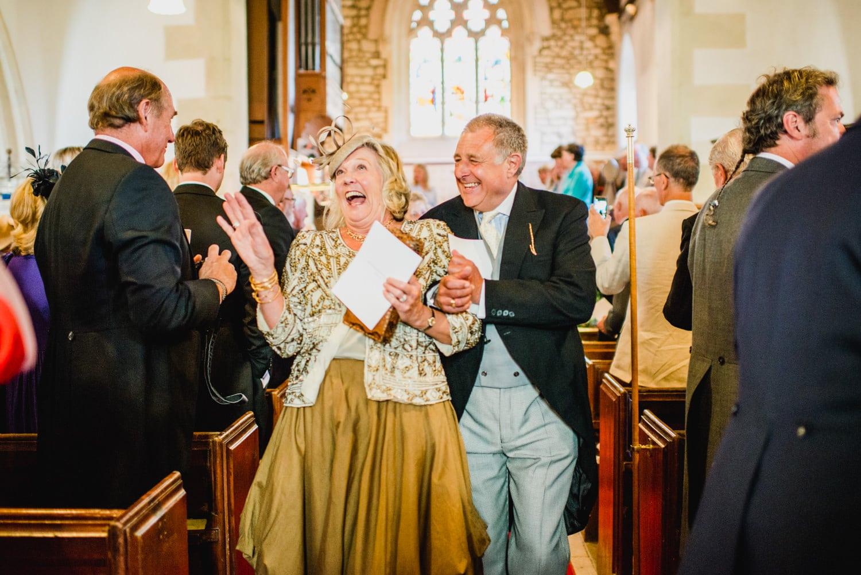 Dorset church wedding