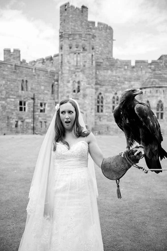 WPJA award, bride with eagle