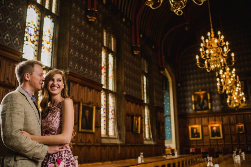 Cambridge College couple shoot