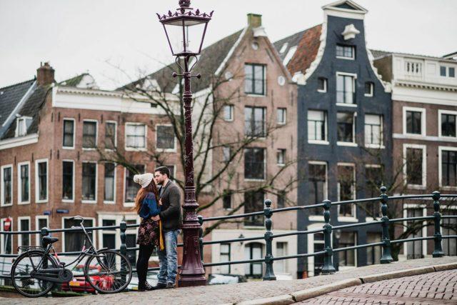 Amsterdam couples portrait session