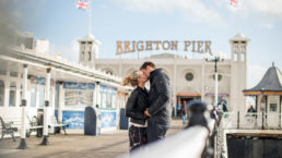Brighton engagement shoot