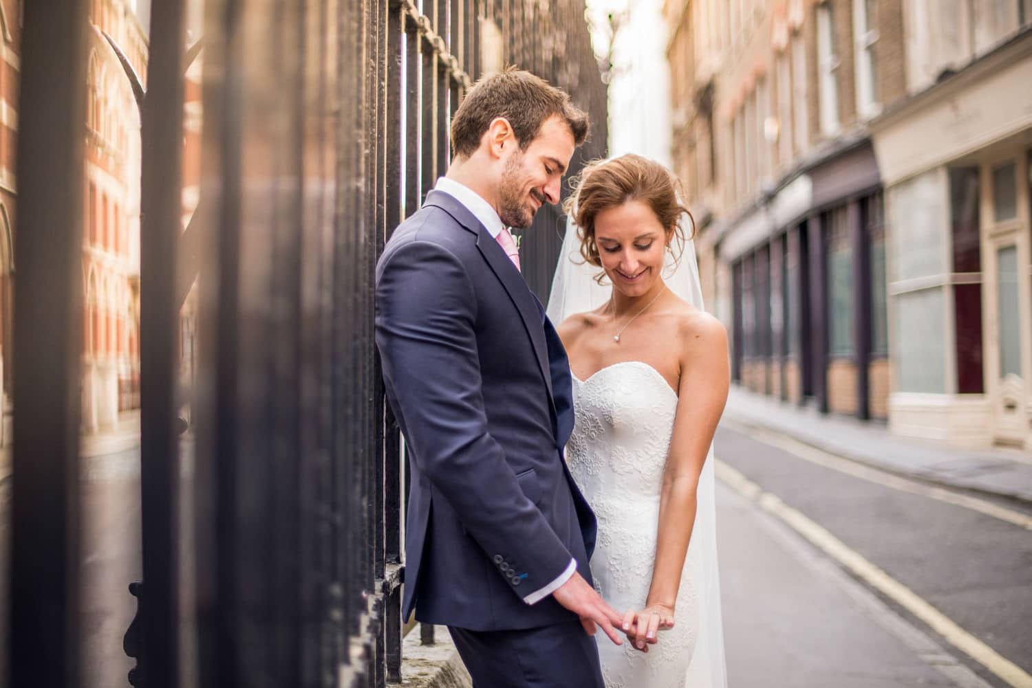 city of London wedding portraits