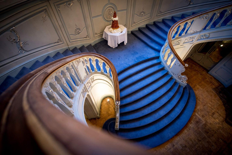 The savile club stairs