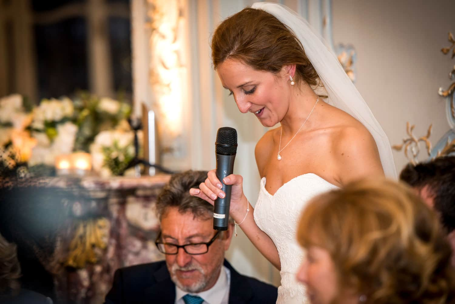 bridal speech at The savile club
