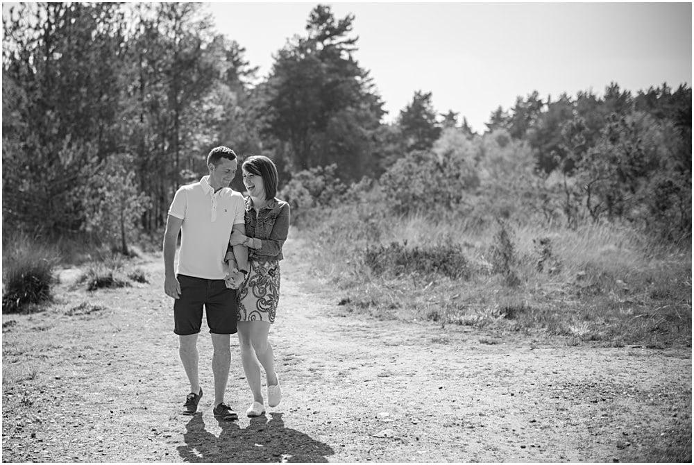 Thursley Common engagement shoot