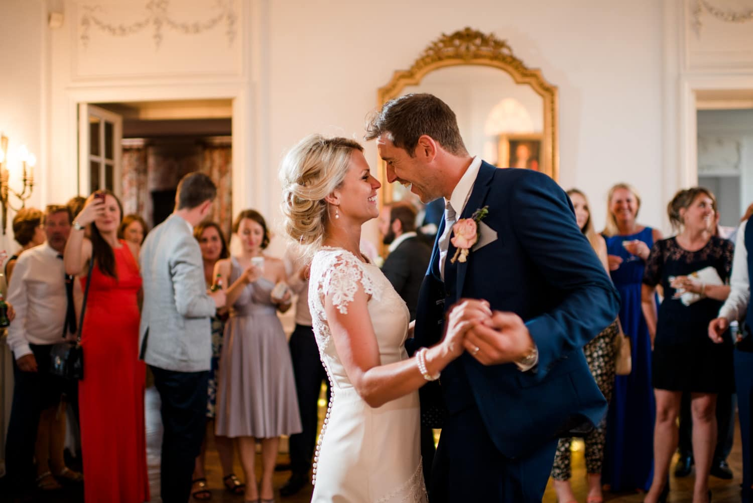 first dance at Chateau de Lacoste wedding