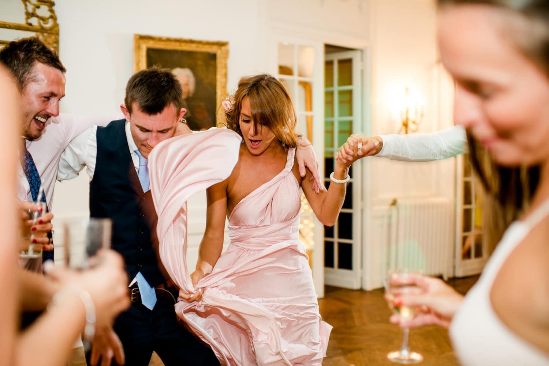 party at Chateau de Lacoste