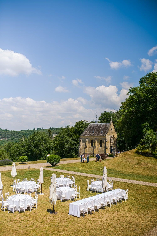 chapel at Chateau de Lacoste wedding venue