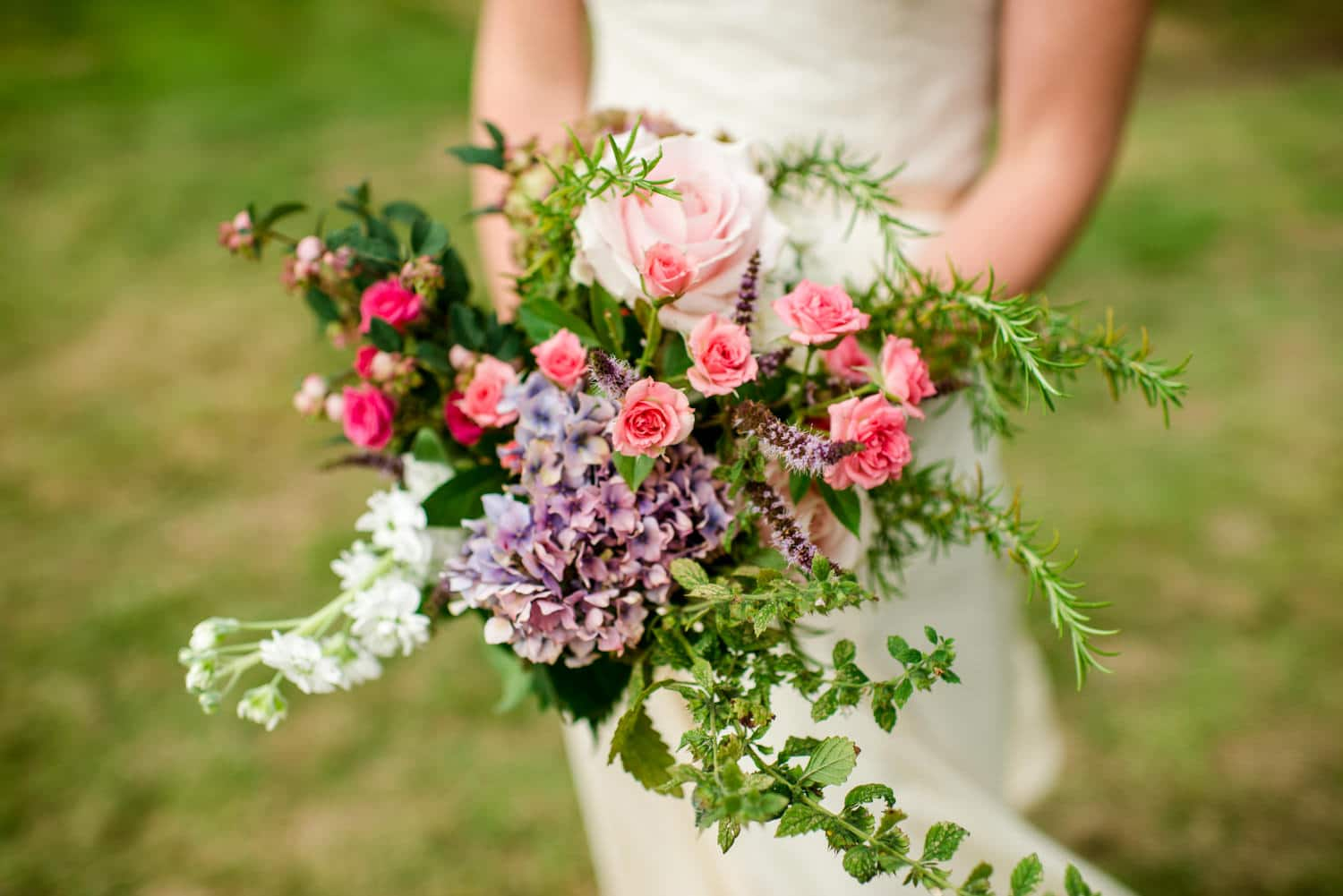 wedding bouquet by Tattie Rose flowers
