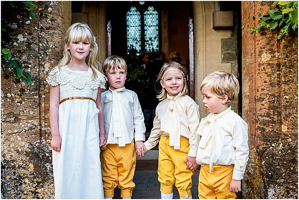 bridesmaids and pageboys