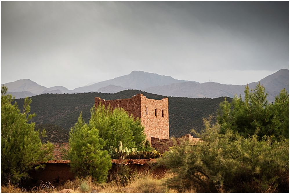 Moroccan wedding venue