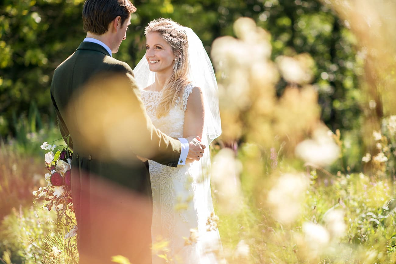 wedding portraits in the countryside