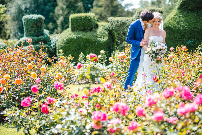 Rose Garden wedding portraits at Pennard ouse