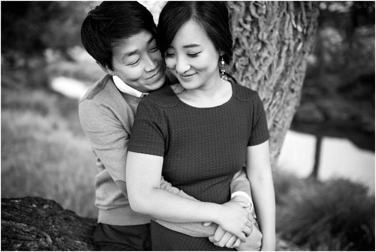 Richmond Park Engagement Photography