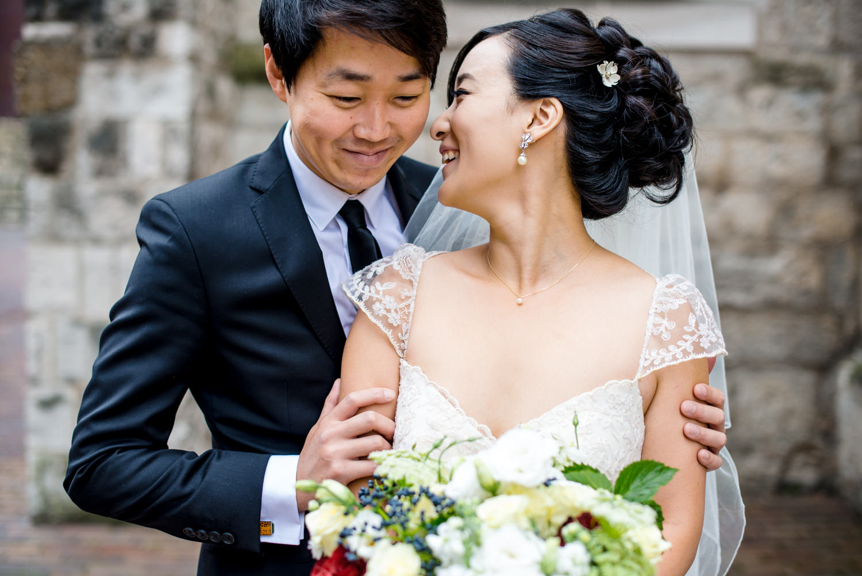 Barbican wedding Portraits