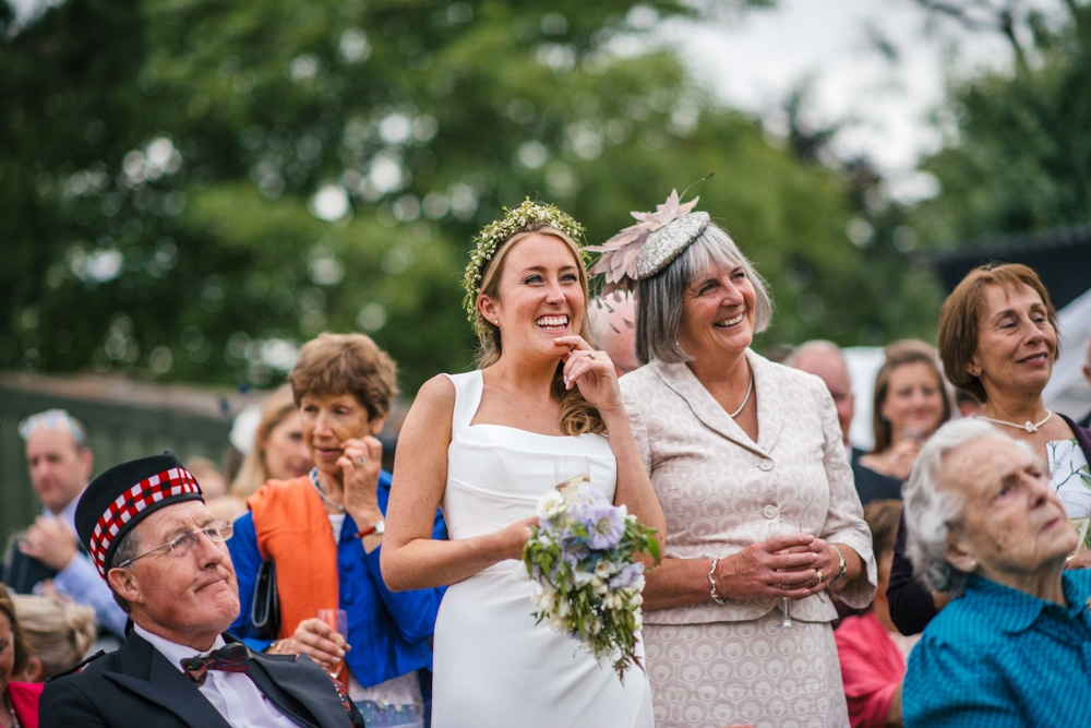 Outdoor speeches in New Forest