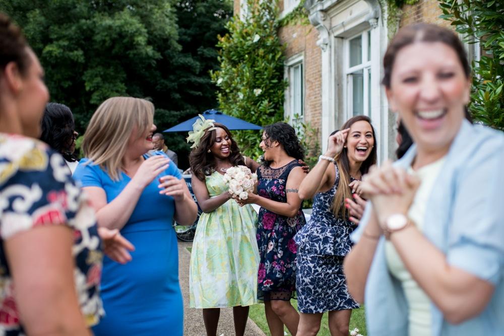Wedding reception at High Elms Manor Watford