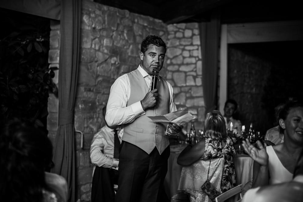 batsman speech at wedding