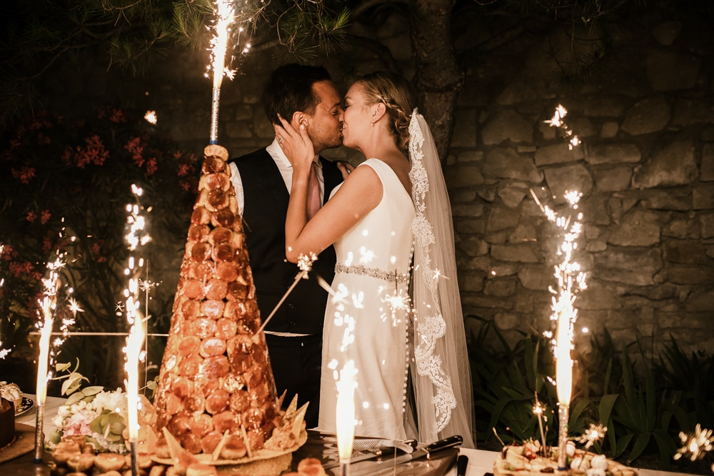 wedding cake wedding at Le Mas de La Rose wedding