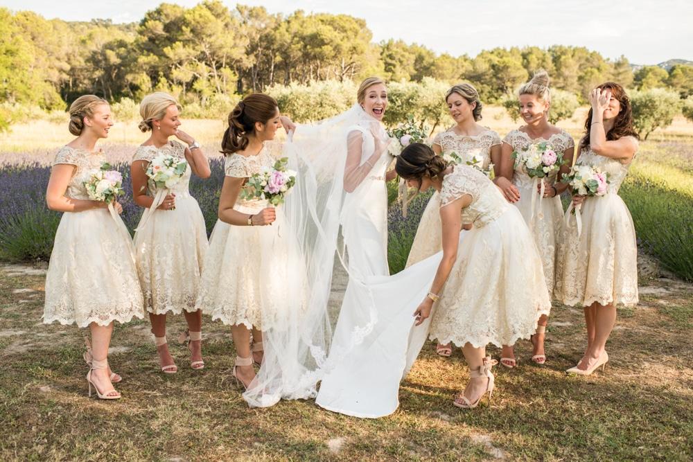 Le Mas de La Rose wedding venue lavender