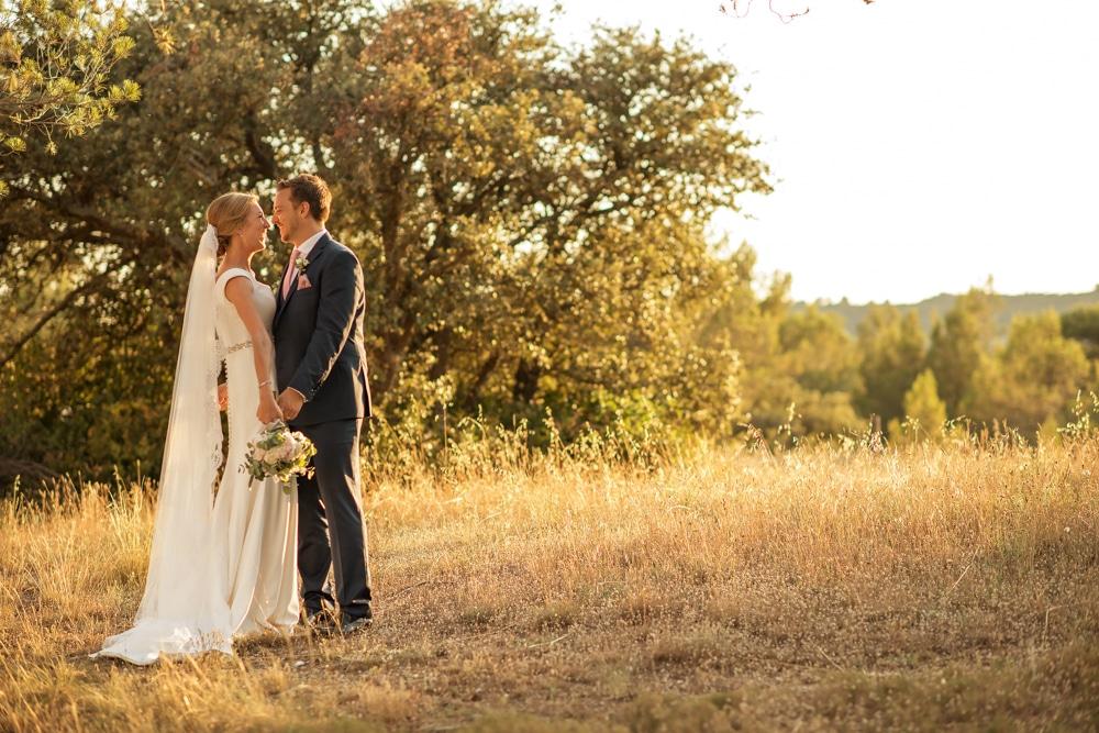 Le Mas de La Rose wedding portraits