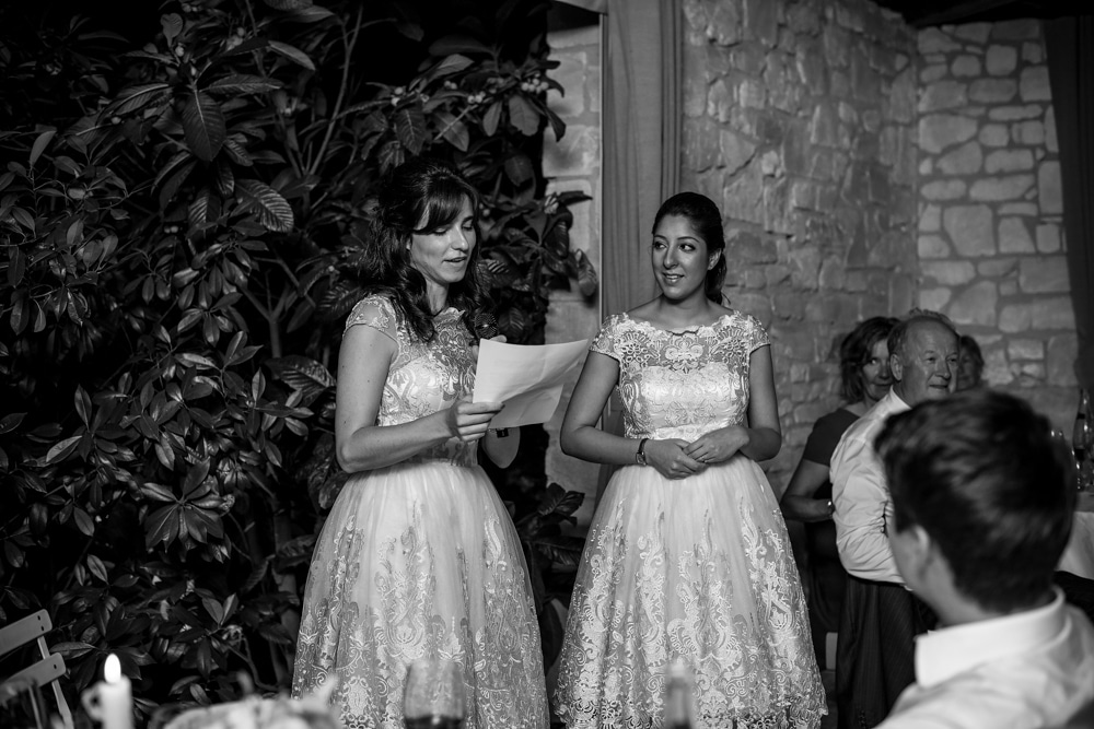 speeches by bridesmaids