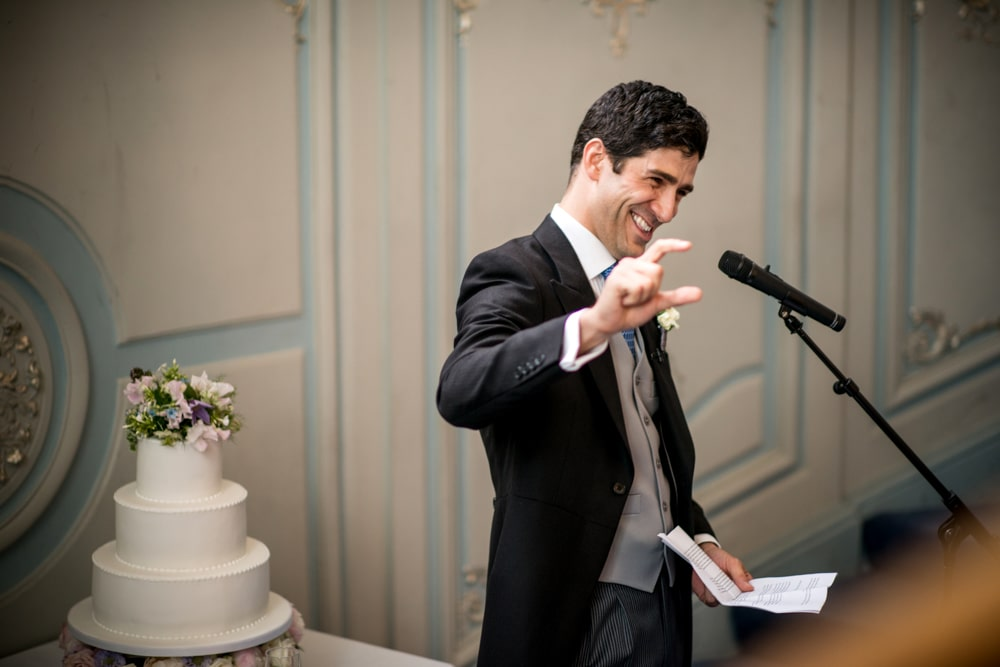 Grooms Speech at London Savile Club