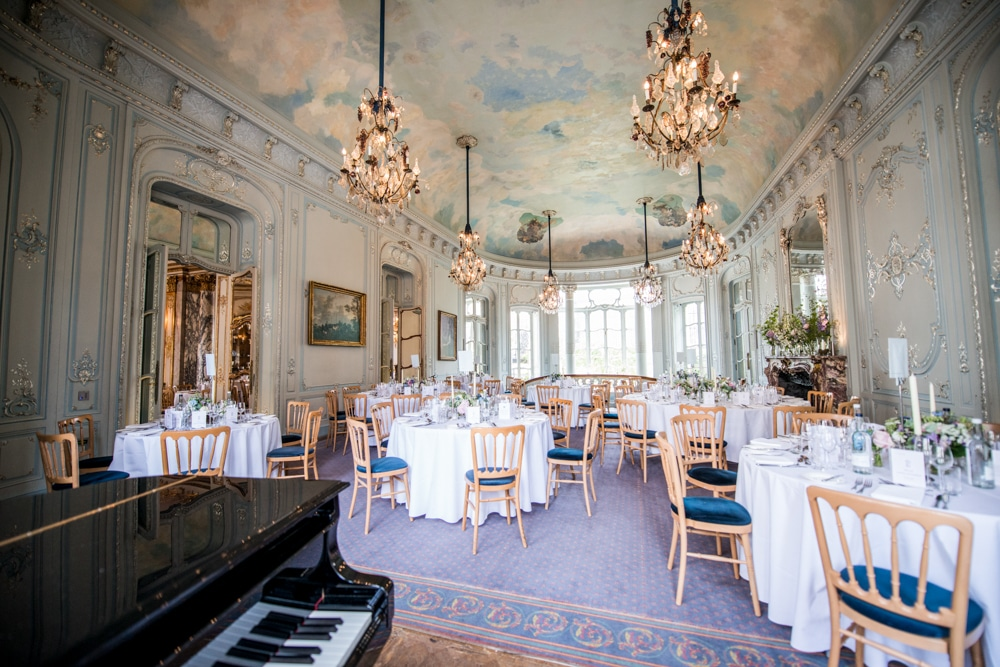 The Savile club London wedding ballroom interior