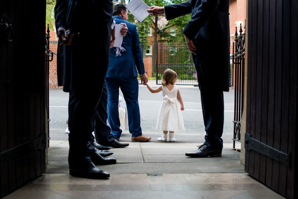 flowergirl at St Francis of Assisi