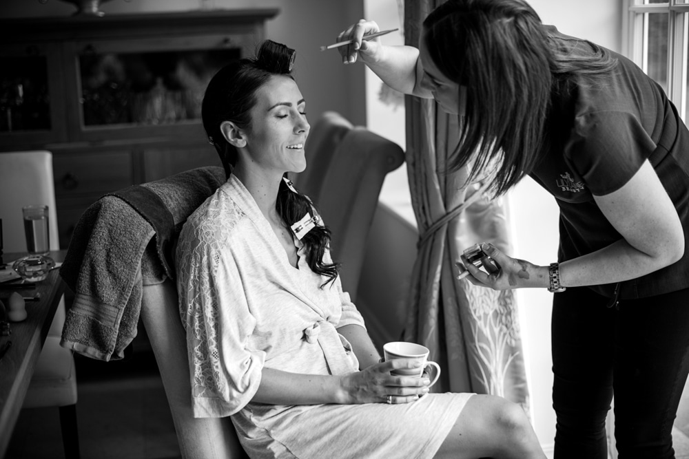Bridal Preparations in Berkshire
