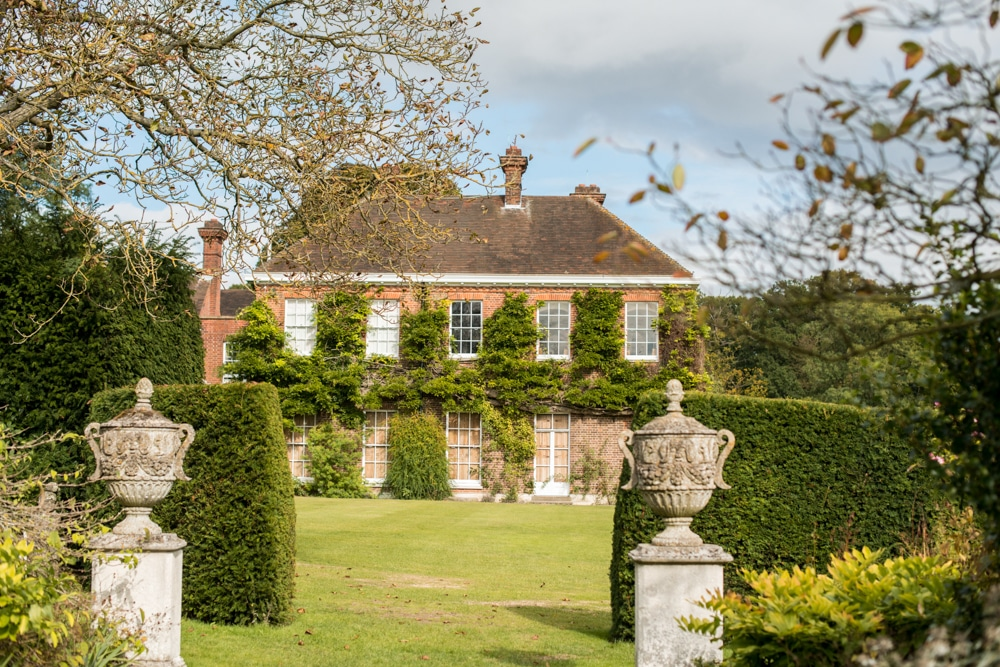 An Outdoor Autumn Wedding Ceremony At Micklefield Hall