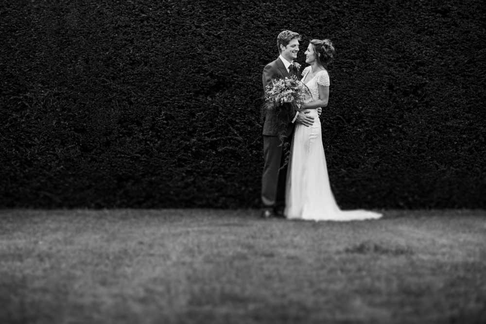 Micklefield Hall wedding portraits