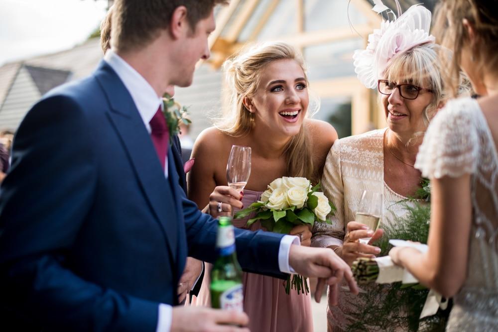 Wedding reception at Micklefield Hall
