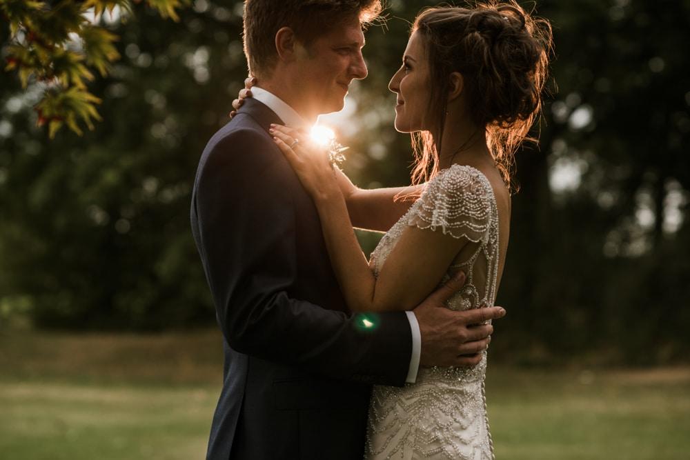 wedding photo with magmod lighting