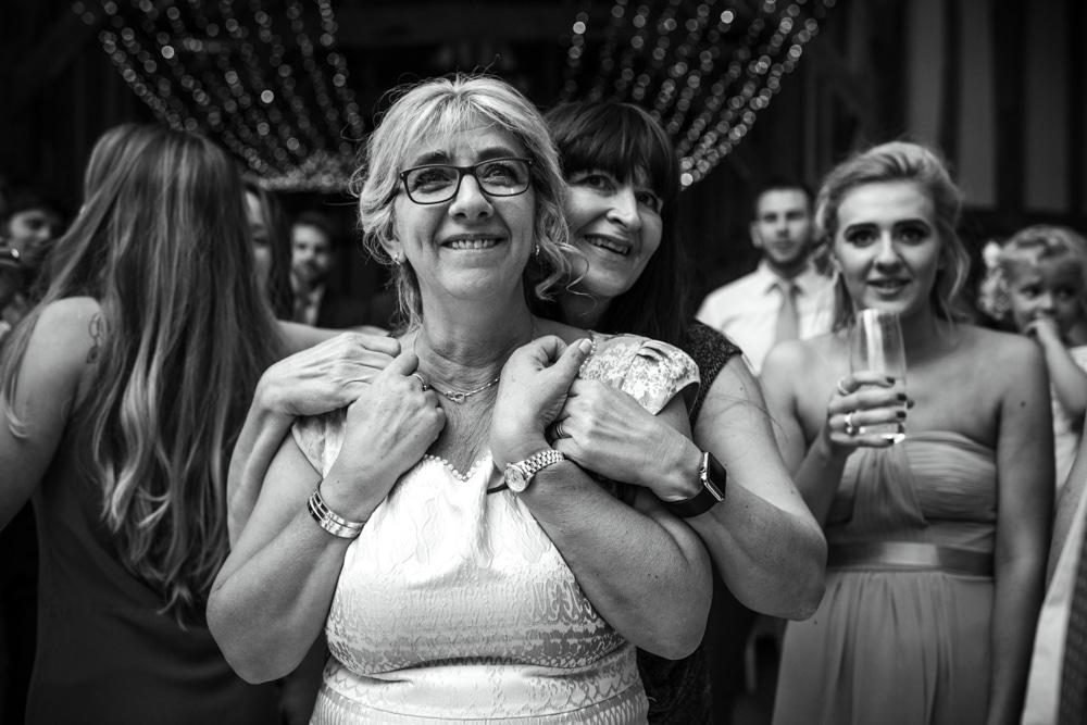 Impromptu speech at wedding
