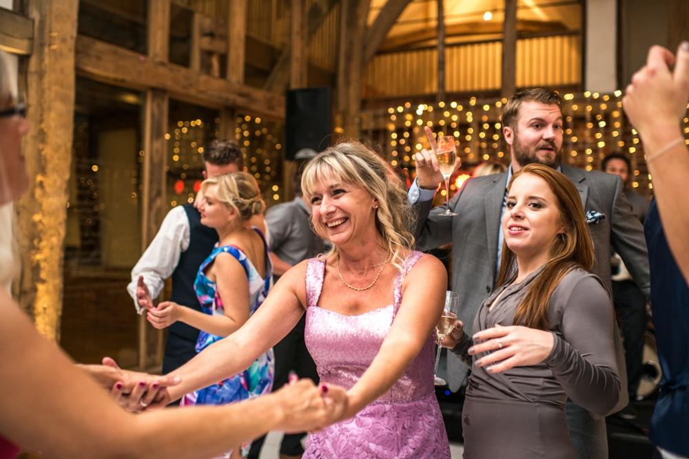 mother of bride on dance floor