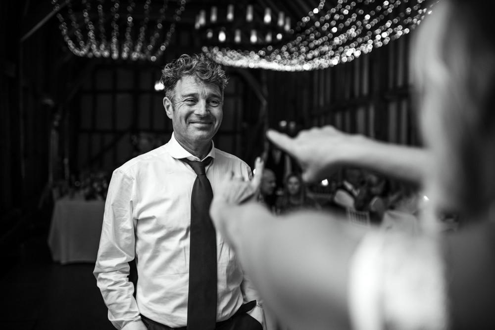 father of bride on dance floor