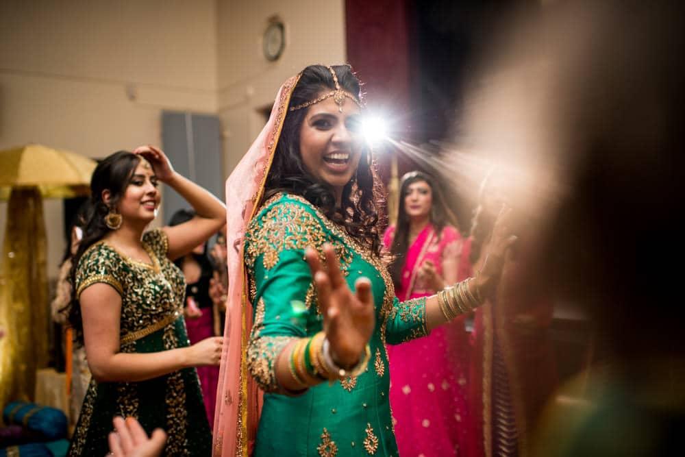Traditional Mehndi celebrations