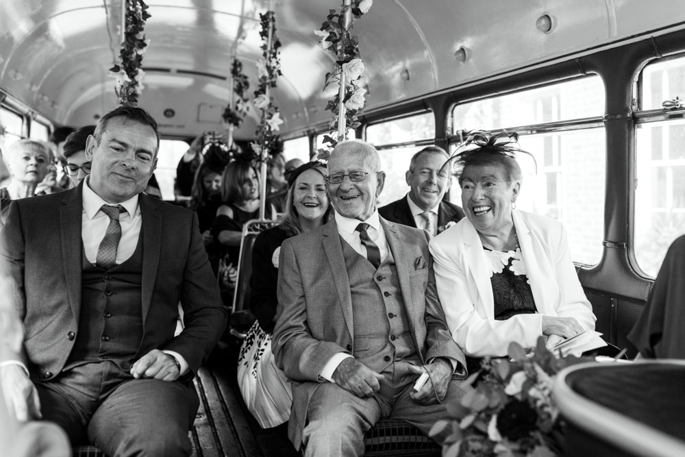 guests on bus