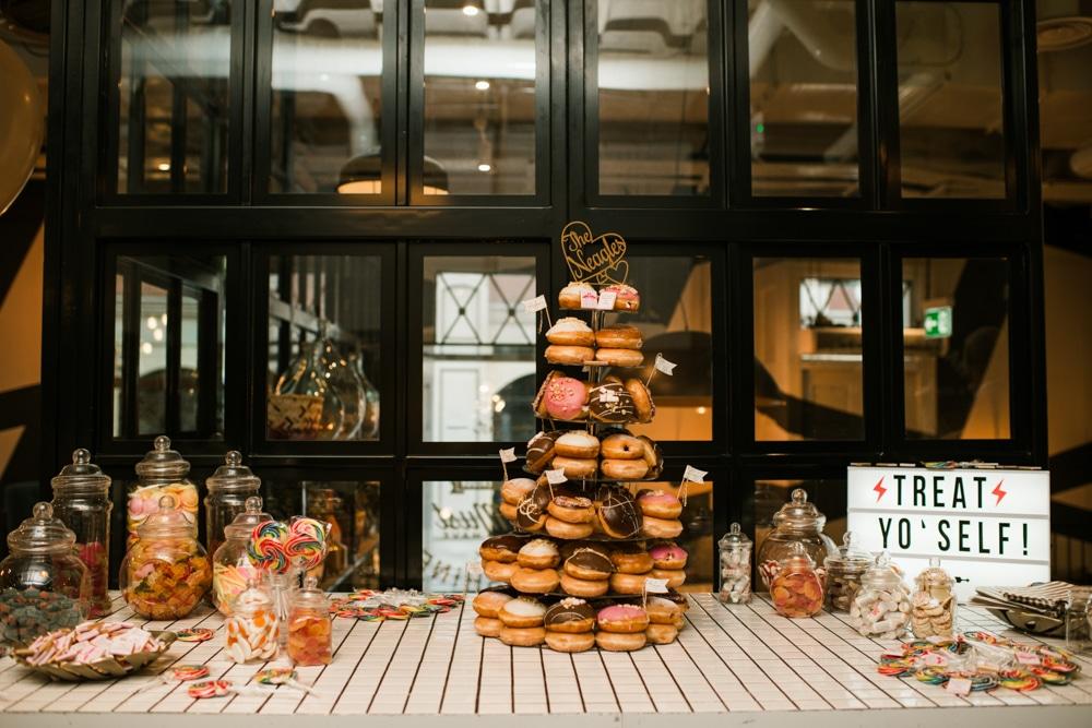 Krispy Kreme wedding cake