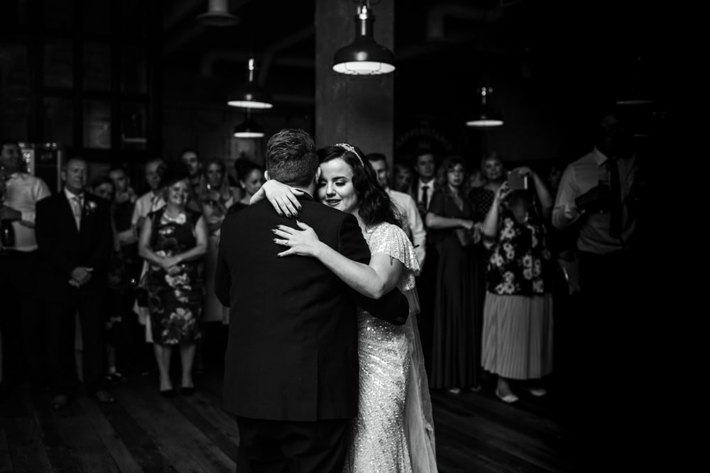 First dance at The Happenstance London