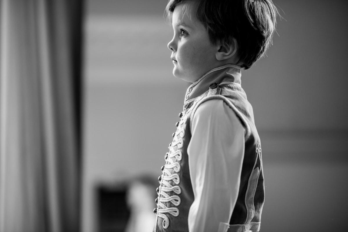 pageboy at wedding