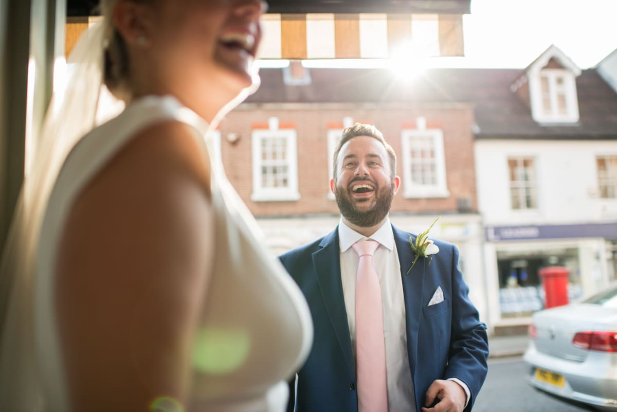 wedding in reigate surrey