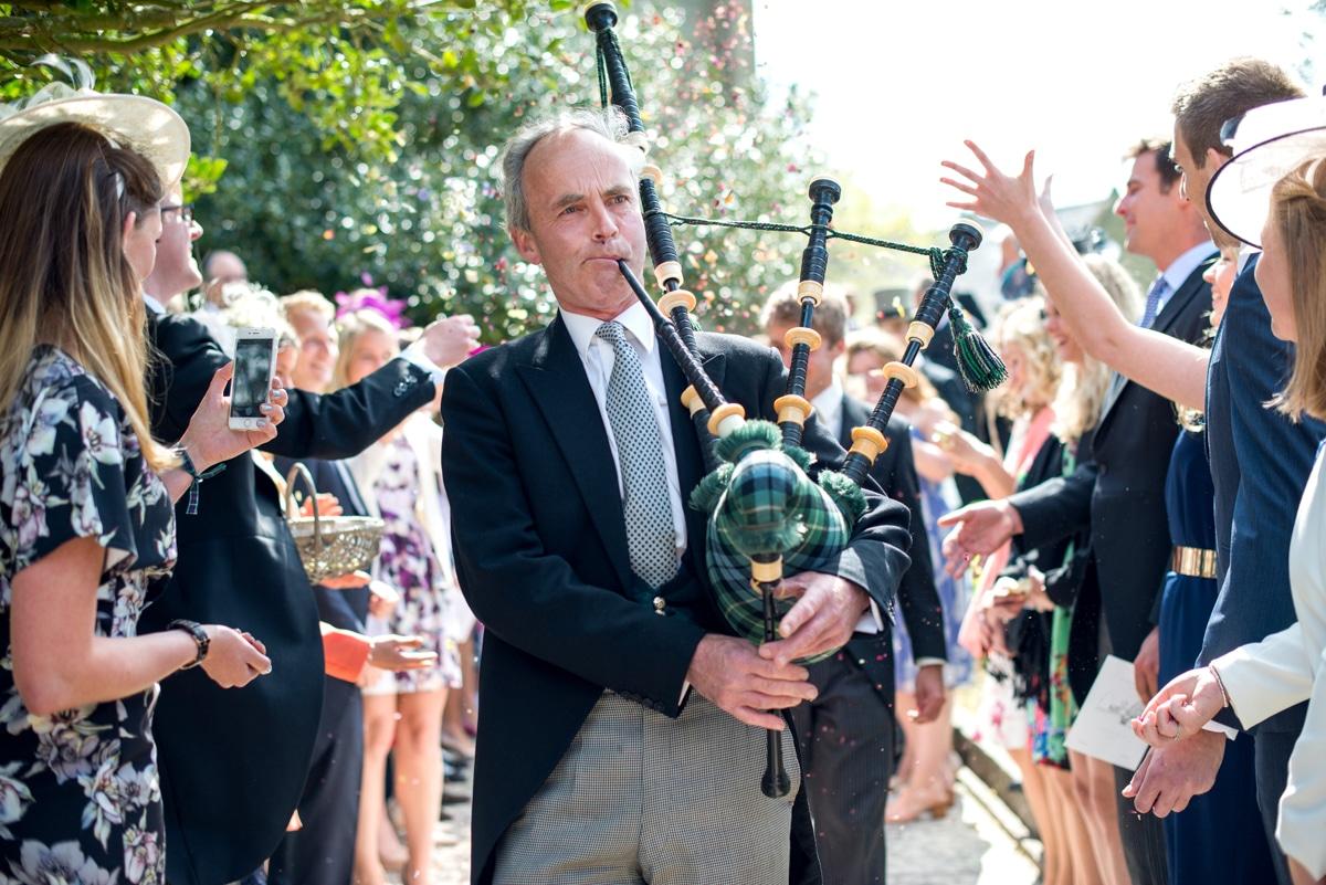 bagpipes at weddings