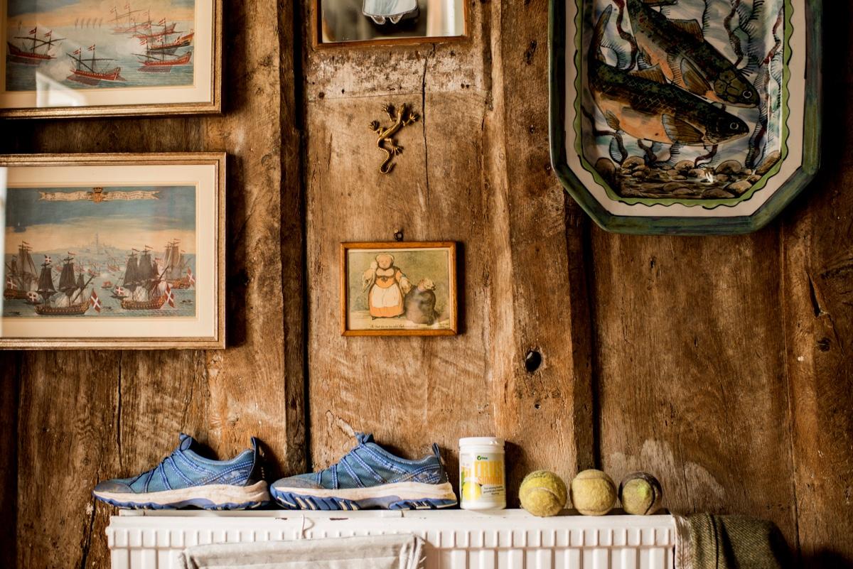 Details in bridal home