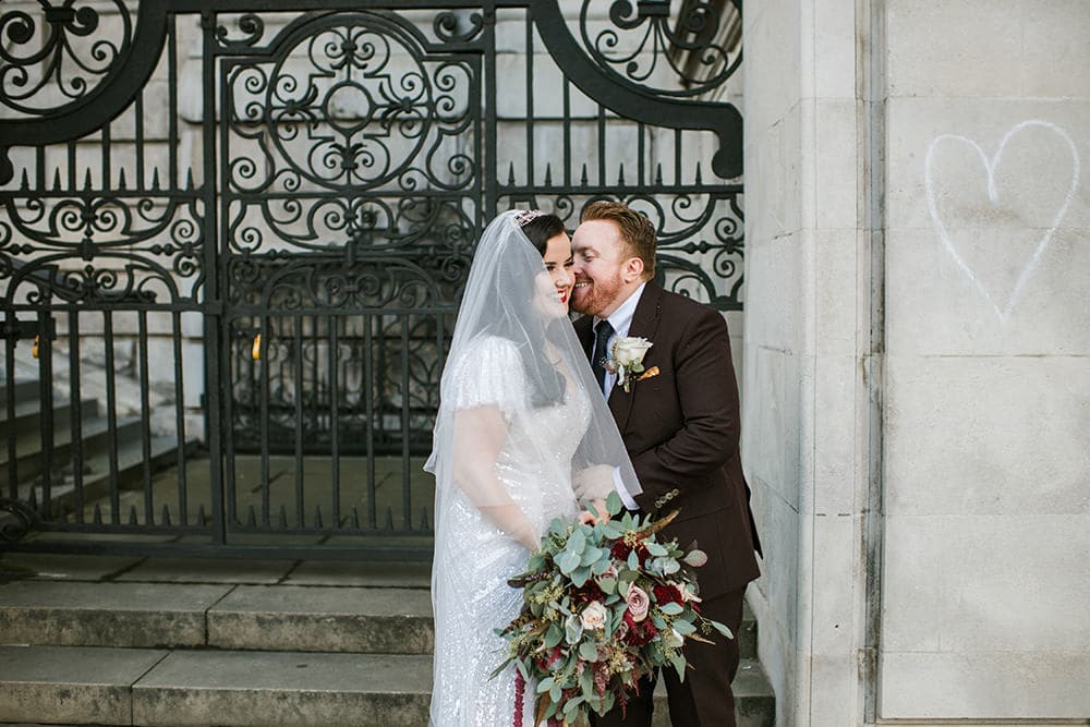 Wedding portraits in London