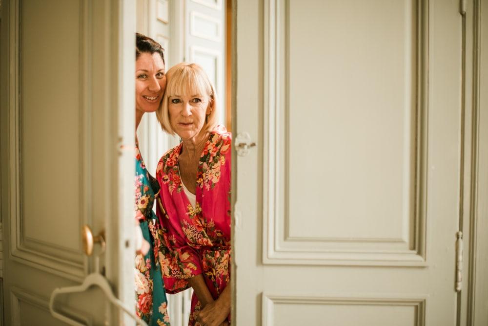 morning preparations at Chateau La Durantie Wedding