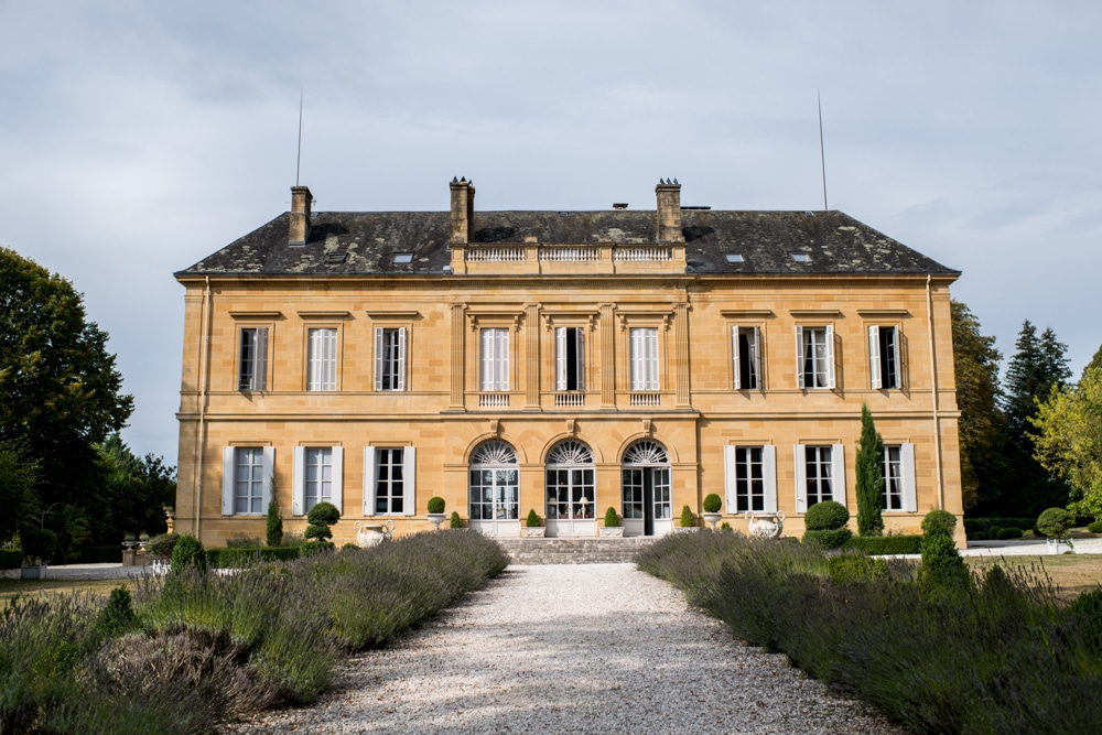 Chateau wedding venue in France