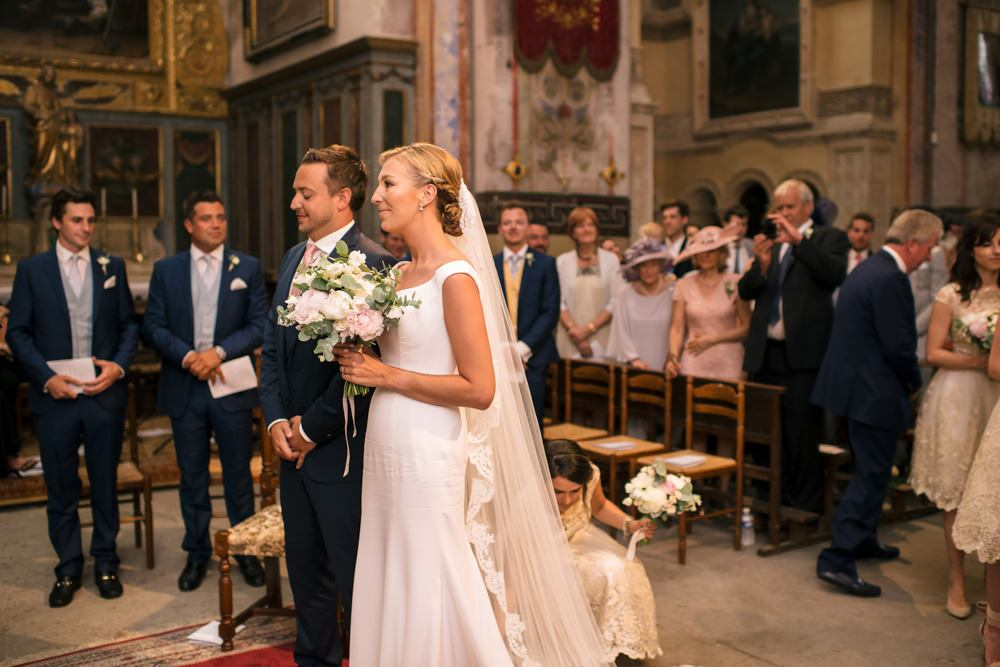 destination church wedding in France