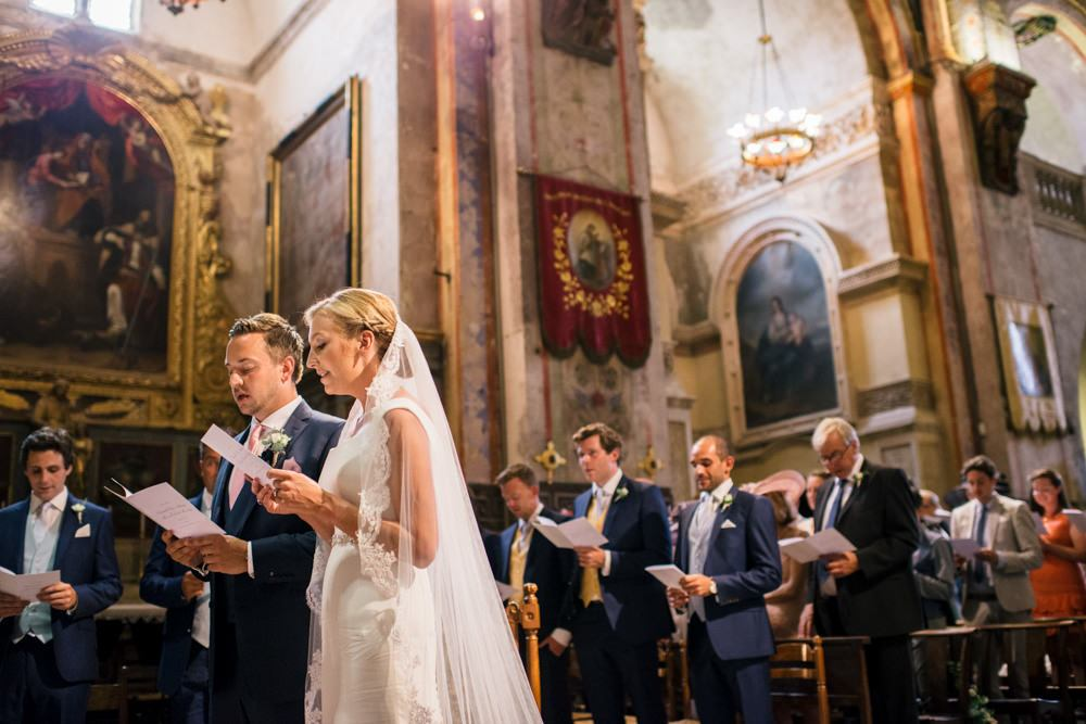 church wedding in France